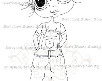 INSTANT DOWNLOAD Digital Digi Stamps Big Eye Big Head Dolls Digi  My Besties IMG707 By Sherri Baldy