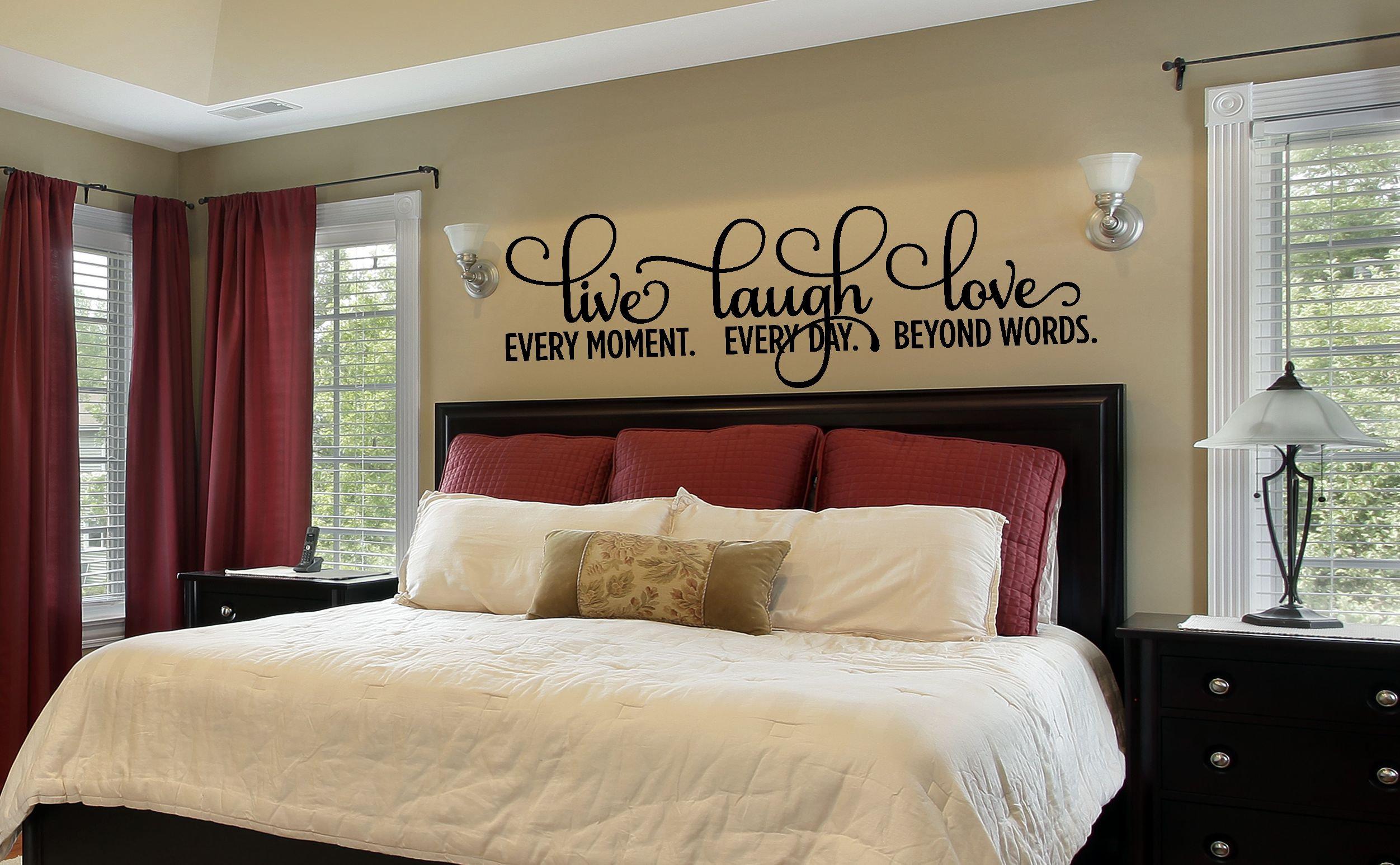 Bedroom Decor Bedroom Wall Decal Master Bedroom Wall Decal