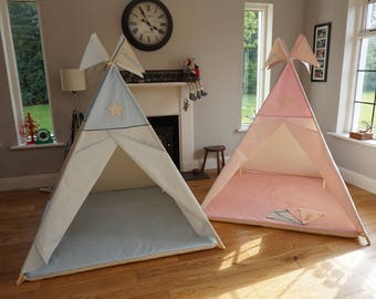 Teepee Play Mat, Fitted mat for tepee, tipi padded mat, custom made soft sherpa mat for teepee, wigwam, mat for play tent. floor pad tipi