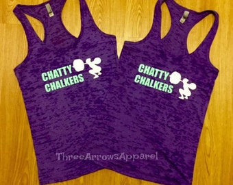Crossfit Competition Burnout Tanks YOUR TEAM NAME Custom