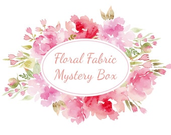 Floral Fabric Mystery Box