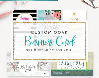 Business calling cards etsy ca custom business card design graphic design calling cards unique business cards photography business card small business branding reheart Images