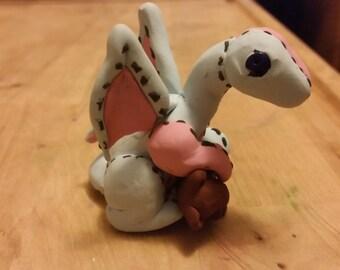 Plushie Polymer Clay Dragon