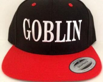 Goblin  Snapback  adjustable hat Goblin hat