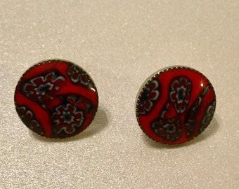 Millifiori Post Earrings