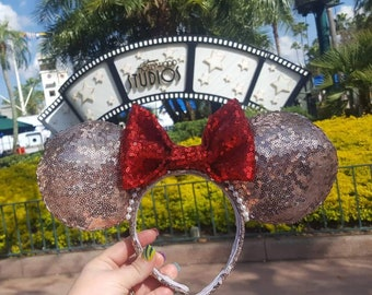 Rose Gold Mickey ears