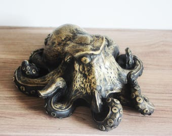 Lil Octopus   mini sculpture steampunk limited edition