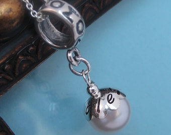 The Mommy bead -  Add-a-bead bracelet- Charm ONLY- LIMITED edition