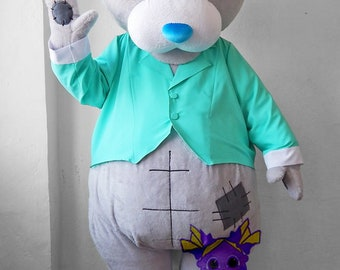 """Teddy Bear """"Me to You"""". Life-size puppet (with jacket)"""