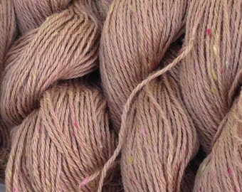 Rosey Fawn Alpaca Silk Camel Yarn