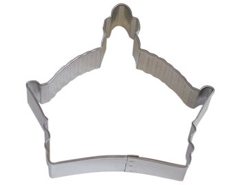"3.5"" Byzantine Crown Cookie Cutter birthday party treats decorations crafts King Queen princess baking supplies 0896"