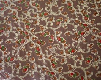 Great Flower Designs 50 x 145 cm, 80's by 80's superfine cotton