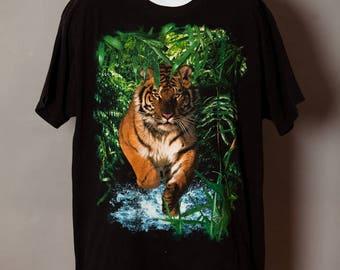 90s Tiger Tshirt - XL