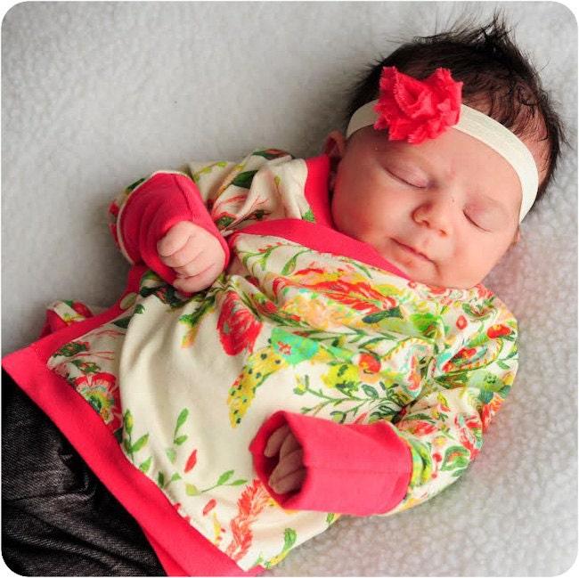 Baby Kimono Sewing Pattern / Lullaby Line Kimono Kid Pattern ...