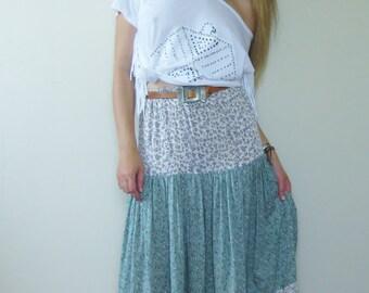 Tiered Gypsy Skirt   Tiered Skirt   Gypsy Skirt   Long Tiered Skirt   Long Skirt   Tiered Maxi Skirt   Maxi Skirt    Boho Skirt   Spanish
