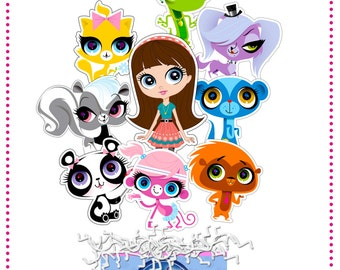 Littlest Pet Shop Centerpiece PRINTABLE