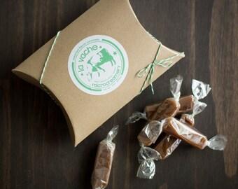 Assorted Flavor Caramels (4oz Box)