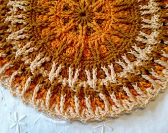 Here Comes The Sun Cotton/Wool Doily