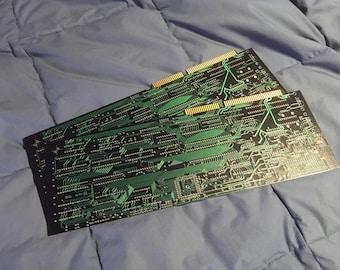 """13"""" x 5""""  Green Electronic Circuit Board -"""