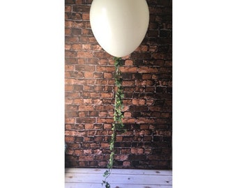 "Vine balloon garland and 36"" balloon"
