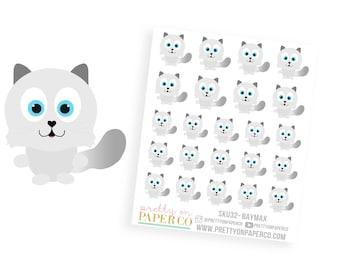 Baymax - Planner Stickers