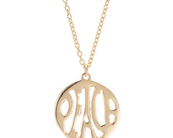 Gold peace necklace etsy gold peace sign necklace 14k gold peace sign pendant peace pendant gold hippie mozeypictures Choice Image
