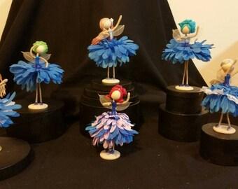 Flower Fairy Dolls Dancers
