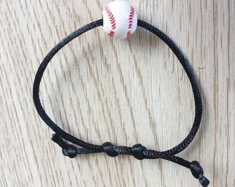 10 Baseball - Softball Friendship Bracelet Party Favors.