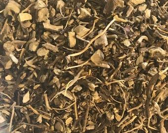 GRAVEL root, cut. Eutrochium purpureum. Sold by weight. USA grown. Queen of the Meadow Root, Joe Pye Weed Root