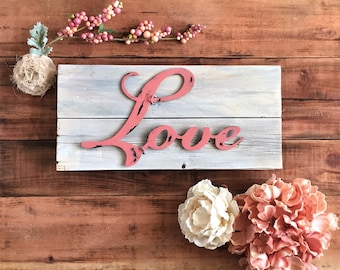 Valentine's Décor - Love Wall Hanging