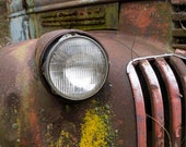 Red Pickup headlight with...
