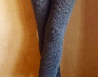 Made to order-rib, knit stretchy, alpaca (or organic merino wool) pants-leggings- tights