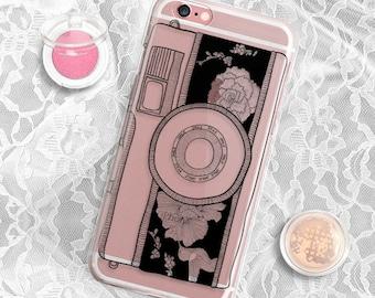 Rubber Camera iPhone 6s case Clear iPhone 6 case Camera Samsung Galaxy S6 case Clear iPhone 6s plus case Rubber iPhone 5S Case Clear S6 Case