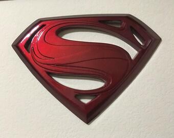 Superman Man of Steel emblem