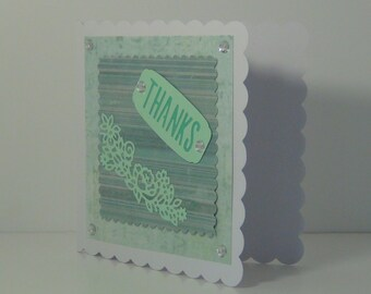 Hand Made Thanks Card