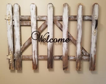 Picket Fence Wall Hanging - Large