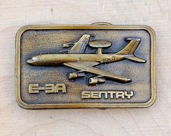 USAF Belt Buckle Military Belt Buckle Aircraft Belt Buckle Brass Belt Buckle Airplane Belt Buckle Aviation Belt Buckle Air force