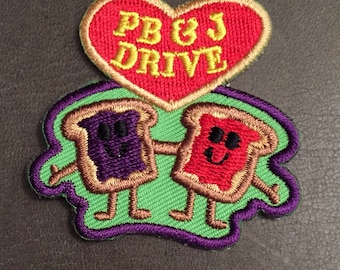 PB & J Merit Badge Peanut Butter and Jelly Sandwich Patch