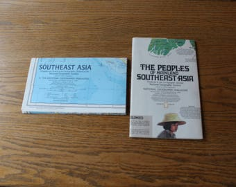 National Geographic Map Set - Southeast Asia
