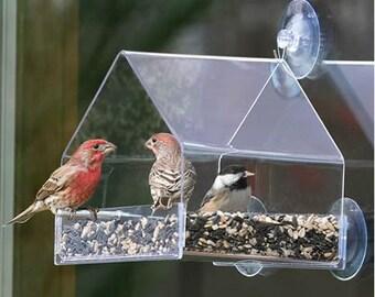 Duncraft Window Chalet Bird Feeder