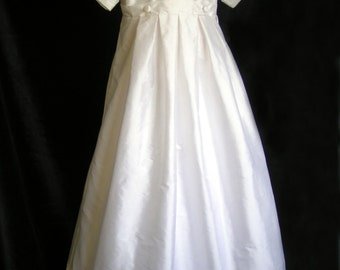Boys Pure silk Celtic Knot Christening / baptismal gown