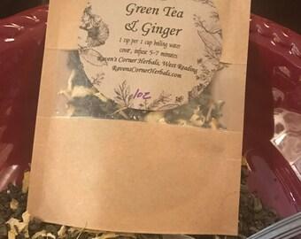 Green Tea & Ginger