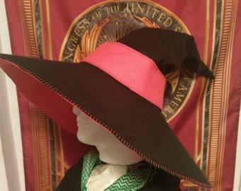 Bi-Color Bamboo Wizarding Hat
