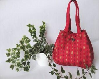 Pure silk bag