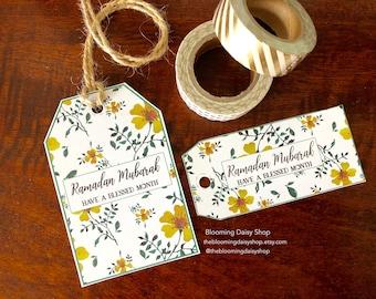 Ramadan Mubarak-Ramadan Decoration-Ramadan Printables-Ramadan Tags-Ramadhan decor-Islamic gifts-Islamic Ramadan gifts-DIY Ramadan Printables