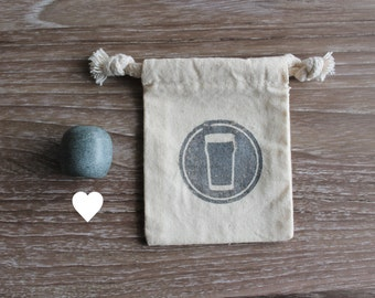 Heart Beer Stone - Olive - Elevate Your Beer!