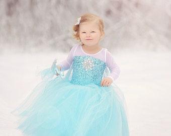 Frozen costume Elsa  inspired  tutu costume 6