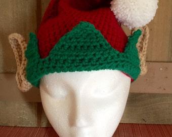 Christmas Elf/Santa Hat Crochet Pattern