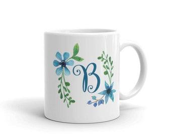 Letter Mug, Monogram Mug, personalized mug, alphabet mug, letter  Mug, Personalized  gift,  Initial  gift,  Custom Name gift
