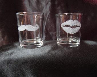 Custom made shotglasses